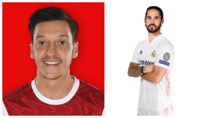 Ozil and Isco